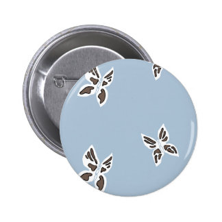 Blue Mountain Range Buttons - Black Butterfly