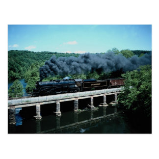 Blue Mountain & Reading 4-8-4 #2102 Auburn Pennsyl Postcard