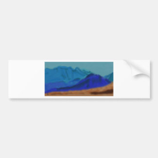 Blue Mountains Art Bumper Sticker