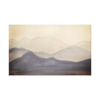 Blue Mountains Landscape Canvas Print