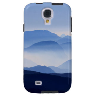 Blue Mountains Meditative Relaxing Landscape Scene Galaxy S4 Case