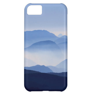 Blue Mountains Meditative Relaxing Landscape Scene iPhone 5C Case