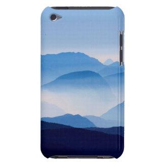 Blue Mountains Meditative Relaxing Landscape Scene iPod Case-Mate Case