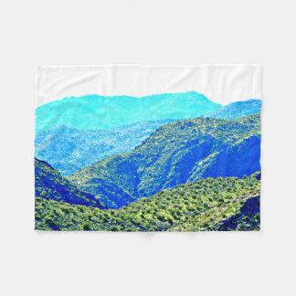 Blue Mountains of Arizona Fleece Blanket