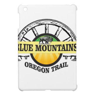 Blue mountains ot pass iPad mini cover