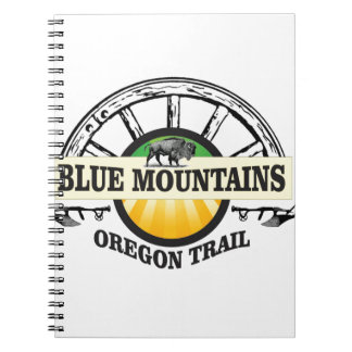 Blue mountains ot pass spiral notebook