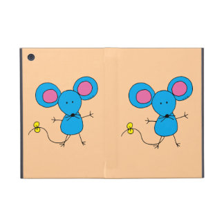 Blue mouse case for iPad mini