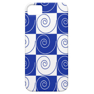 Blue Mouse Tail Twists iPhone 5 Covers