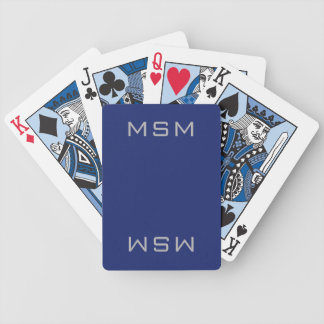 Blue MSM Playing Cards