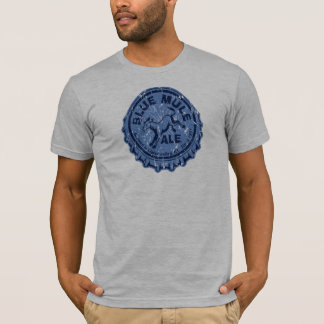 Blue Mule Ale Distressed T-Shirt