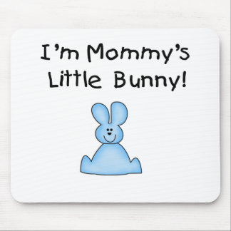 Blue Mummy's Little Bunny T-shirts and Gifts Mouse Pad