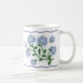 Blue Mums Coffee Mugs