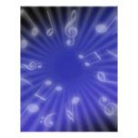 Blue Music Custom Flyer