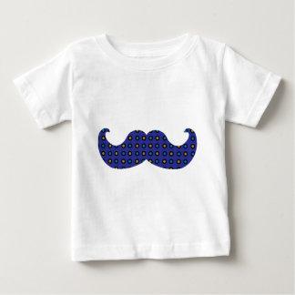 Blue Mustache Baby T-Shirt