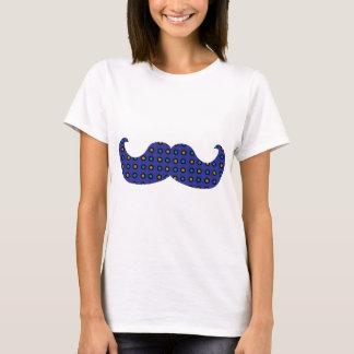 Blue Mustache T-Shirt