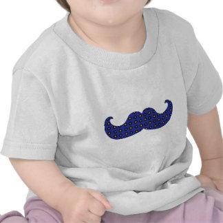 Blue Mustache T Shirt