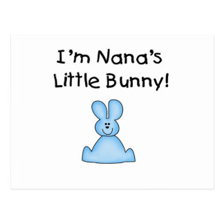 Blue Nana's Little Bunny T-shirts and Gifts Postcard