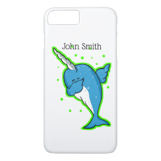 Blue Narwhal Dabbing iPhone 8 Plus/7 Plus Case