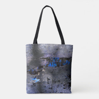 Blue Nature Abstract Photography Tote Bag