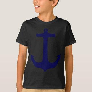 Blue Nautical anchor pattern T-Shirt