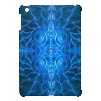 Blue Nautilus Mandala iPad Mini Case