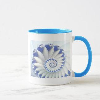 Blue Nautilus Mug