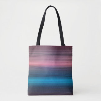 Blue, navy and violet spectrum tote bag