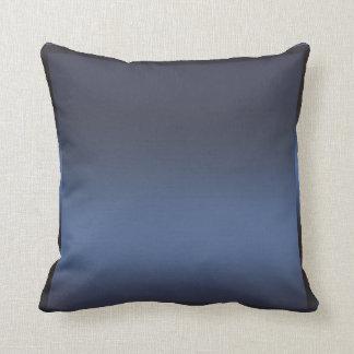 Blue Navy Sateen Satin Shine Modern Glamour Glam Cushion