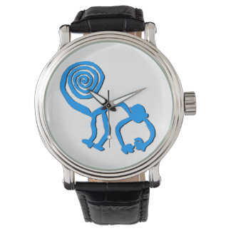 Blue Nazca Monkey Watch