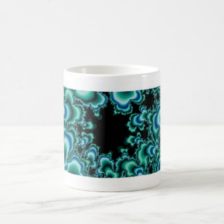 Blue Nebula Basic White Mug