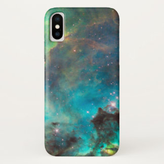 Blue Nebula iPhone X Case
