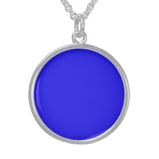 Blue necklace for ladies