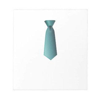 Blue Necktie Notepad