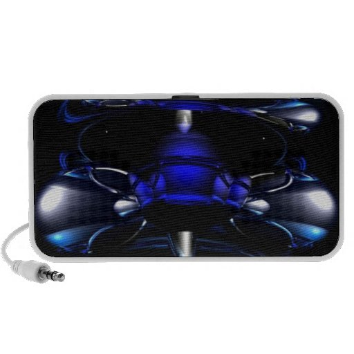 Blue Neon iPhone cover Speaker System