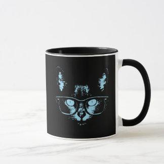 Blue Nerd Cat