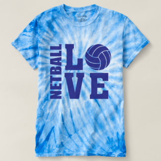 Blue Netball Love, Netball T-Shirt