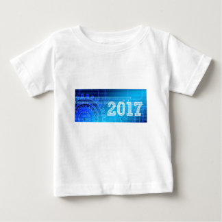 Blue New-Years-Day #2 Baby T-Shirt