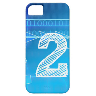 Blue New-Years-Day #2 iPhone 5 Cases