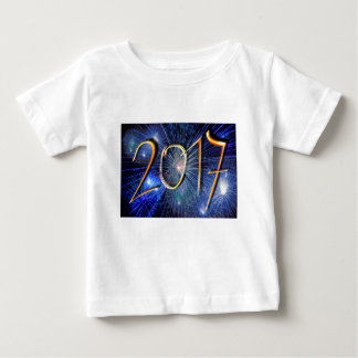 Blue New-Years-Day #3 Baby T-Shirt