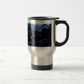 Blue New York City Mug