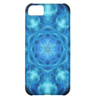 Blue Nova Mandala iPhone 5C Case