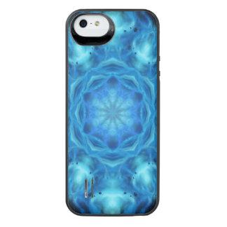 Blue Nova Mandala iPhone SE/5/5s Battery Case