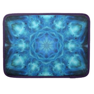 Blue Nova Mandala Sleeves For MacBook Pro
