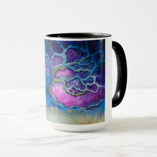 Blue Oak Tree Coffee Mug