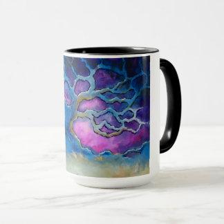 Blue Oak Tree Coffee Mug