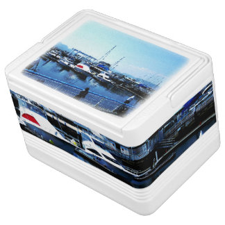 Blue ocean photo cooler box Part 1