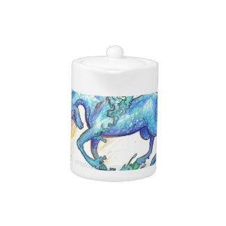 Blue Ocean Sea Unicorn Fish Horse Hippocampus