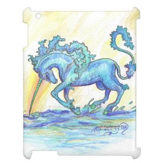 Blue Ocean Sea Unicorn Fish Horse Hippocampus Cover For The iPad 2 3 4
