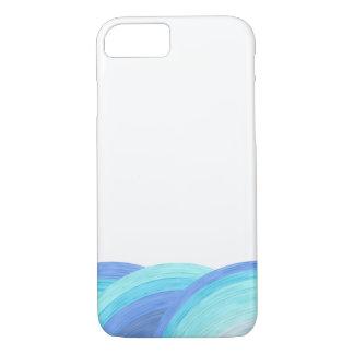 Blue ocean waves iPhone 8/7 case