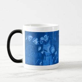Blue Octoberfest Monks Secret Recipe Morphing Mug